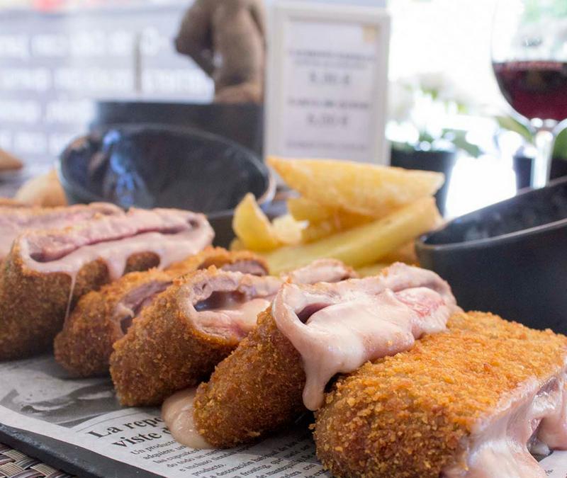 De la mejor carne Asturiana : El Cachopo