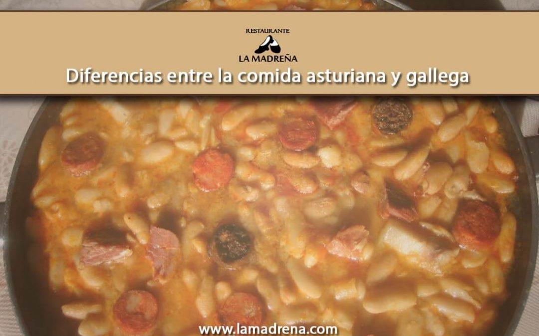 Diferencias entre la comida asturiana y gallega