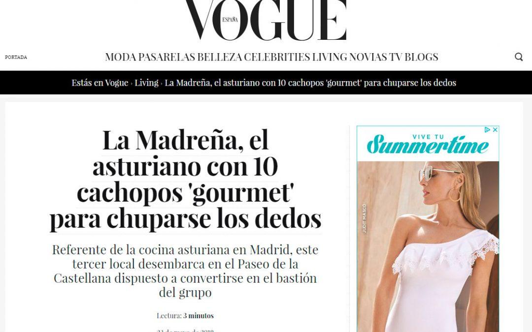 Vogue 23 de mayo 2018