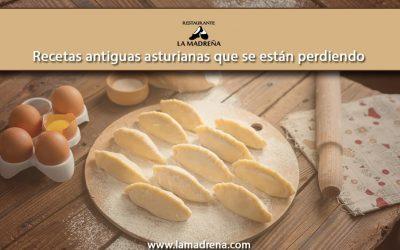 Recetas antiguas asturianas que se están perdiendo