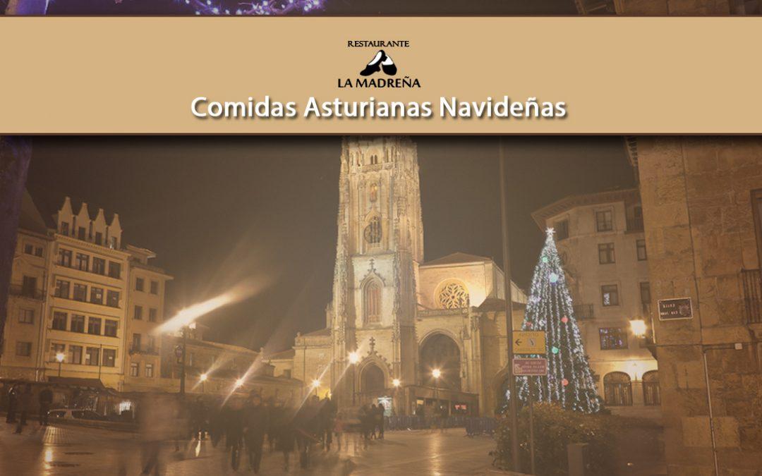 Comidas asturianas navideñas