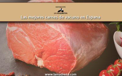 Las mejores carnes de vacuno en España