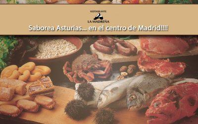 Saborea Asturias… en el centro de Madrid!!!!