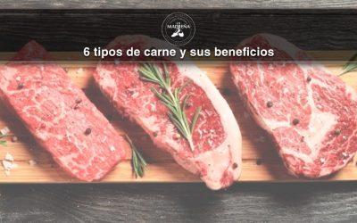 6 tipos de carne y sus beneficios