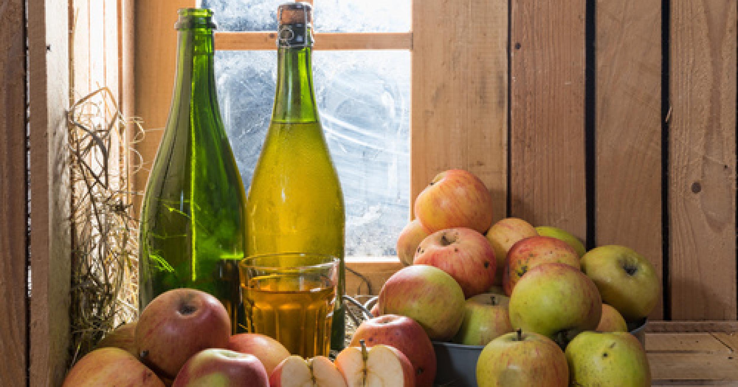propiedades nutricionales de la sidra de manzana